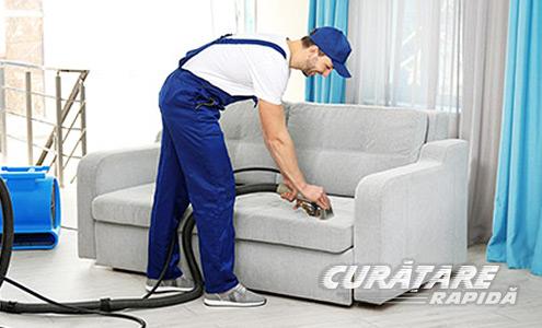 activitatea de curățare la domiciliu)
